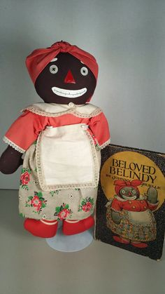 BELOVED BELINDY artist doll and vintage book-Raggedy Ann character in Dolls & Bears   eBay