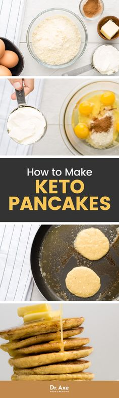 My low-carb pancakes are made with almond flour, grass-fed cream cheese and eggs. Watching your carbs? Try these delicious and nutritious pancakes!