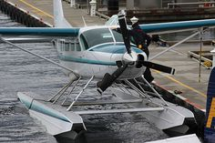 #Cessna Caravan Amphibian #C208 Aircraft Images, Aircraft Pictures, Cessna Caravan, Float Plane, Flying Boat, Private Jets, Helicopters, South Park, Amphibians
