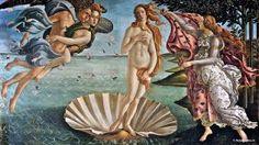 """Uffizi: """"The Birth of Venus"""" by Botticelli"""
