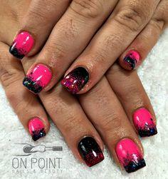 @fluidnaildesign acrylic nails with @kleancolor polish & @glittergasm71 holo multi glitter #squarenails #dopenails #fluidnaildesign #fluidnaildesignaustralia #glitternails #happyclient #instanails #ilovenails #nails #nailstagram #onpointnailsbeauty #prettynails #perfectnails #perthnailtech #qualityoverquantity #qualitynails #sculptednails #pinknails #blacknails #pinkandblacknails #glittergasm #glittergasmfairies #acrylicnails #kleancolor