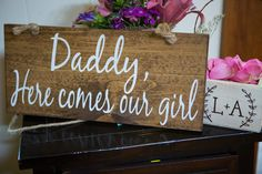 Wedding Sign || Dadd