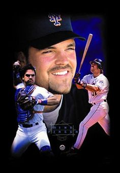 Mike Piazza Ny Mets, New York Mets, Lets Go Mets, Mike Piazza, Dodger Blue, Dodgers, Love Him, Mlb, Joker