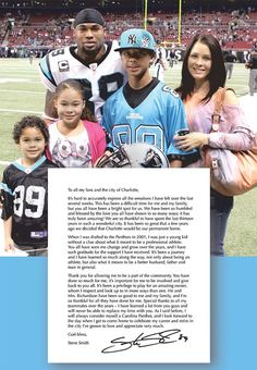 Steve Smith will always be a Carolina Panther.