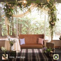 Wedding Chairs, Wedding Table, Maroon Wedding, Ceremony Arch, Hanging Flowers, Couple Shower, Pretty Lights, Wedding Receptions, Porch Swing