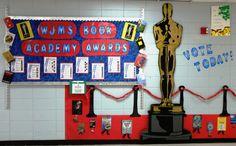 Library Displays: Book Academy Awards