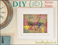 DIY Number Art - Todays Creative Blog