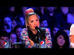 Our Demi Lovata advocates a Children Charity & her birthday was yesterday-Demi Lovato - THE X FACTOR USA