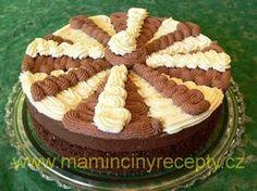 Dort harlekýn Czech Desserts, High Sugar, Buttercream Cake, Pavlova, Tiramisu, Waffles, Pie, Treats, Baking