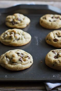 Satisfy your sweet tooth with perfectly chewy cookies.
