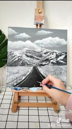 Simple Canvas Paintings, Diy Canvas Art, Art Painting Gallery, Canvas Painting Tutorials, Clay Art Projects, Art Drawings For Kids, Wow Art, Oeuvre D'art, Art Lessons
