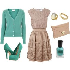 """""""A Sweet Spring Outfit"""" by leeannm on Polyvore"""
