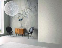 Interior decorado con Papel Pintado New Walls NWS_1847_52_03.