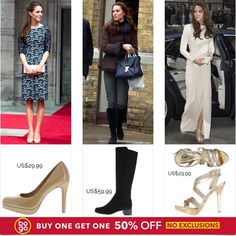 Kate Middleton Style. Shop repliKates from Payless