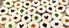 A variety of authentic German Christmas Cookies. German Spritz Cookies, Butter Cookies and more. Butter Cookies Christmas, German Christmas Cookies, Christmas Baking, Xmas Cookies, Christmas Candy, Christmas Desserts, Christmas Ideas, Christmas Crafts, Linzer Cookies