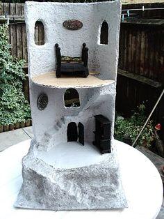 Paper mache Project, Wizards Tower part 7 | julietk