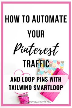 Discover the FASTEST way to automate and repurpose your content by looping your Pins with Tailwind SmartLoop to skyrocket your site traffic. This is the secret sauce of Tailwind. Digital Marketing Strategy, Social Media Marketing, Content Marketing, Marketing Strategies, Marketing Tools, Business Marketing, Make Money Blogging, How To Make Money, Blogging Ideas