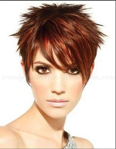 I love this... That's my style! Add some blond chunks in front too!