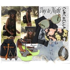 coachella, created by kmm41 on Polyvore