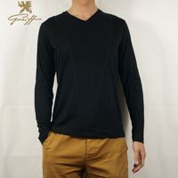 Uk.Greiff. T Shirt Men full  sleeve 3XL Cotton  Fitness V- Neck  2015 Autumn Spring Men Brand Casual T-shirt Men
