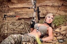 Girls With Guns Picdump 20 Funny Image from evilmilk. Girls With Guns Picdump 20 was added to the pictures archive on Military Women, Military Army, Fn Scar, Hunting Girls, N Girls, Army Girls, Dangerous Woman, Country Girls, Girl Photos