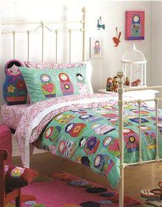 Eve's russian dolls bedding