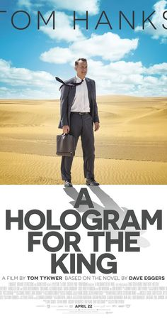 Lionsgate has released the first trailer for Tom Tykwer's A Hologram for the King, the Tom Hanks-starring film based on Dave Eggers' novel of the same name. Sarita Choudhury, Movie Gifs, Hd Movies, Movies Online, 2016 Movies, Dave Eggers, Film Trailer, Movie Trailers, Watch Trailer