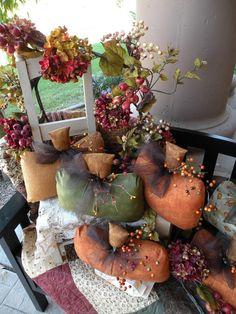 Fall Pumpkins from the Pumpkin Patch $33