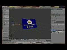 Blender 2.71 - Flag Tutorial ( Basic) - YouTube