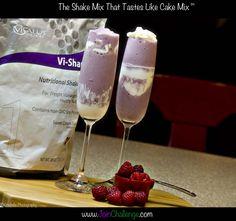 Body by Vi Raspberry Champagne treat :)