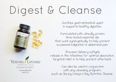 Digest&Cleanse from Young Living. All natural digestive support.