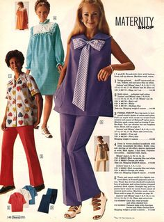 The 1970s | ... how about the 1970s and 1980s maternity collages ...