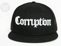 Corruption Bambu Snapback Cap by WIP CAPS