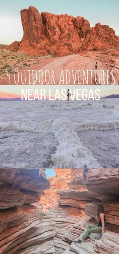 5 Incredible Outdoor Adventures Near Las Vegas – Reckless Roaming When the city life gets old, it's time to get outdoors! Here are 5 awesome places to get your boots in the dirt near Las Vegas. Las Vegas Hiking, Las Vegas Vacation, Vacation List, Vegas Activities, Outdoor Activities, Backpacking Europe, Belfast, Bora Bora, Places To Travel