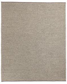 Textura Plaited Wool Rug - Grey