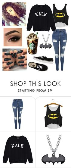 """Today's outfit (13)"" by nightmare-and-daydreams on Polyvore featuring Topshop and Vans"
