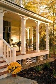 Front porch design.
