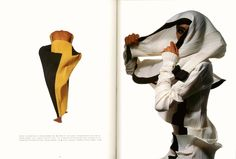 Important Issey Miyake dress Photrhaphed in the book by Irving Penn 10
