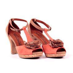 Teide Mary Jane Tan Orange, $79, now featured on Fab.