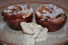 Sweet Yorkshire Puddings (for pudding) recipe