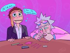 toxic-boner:    Aayyy never did druggy R&M before... - wღrk b°tch