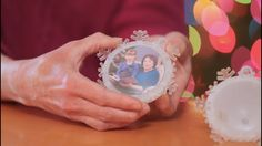 After placing your photo disc into the base you are now ready to TWIST the cap of the Twistmas Light into place.
