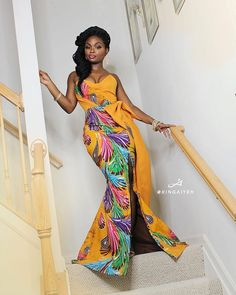 Great Latest African fashion clothing looks Hacks 3653613376 African Print Dresses, African Print Fashion, African Fashion Dresses, Africa Fashion, African Dress, Fashion Outfits, Ankara Fashion, African Prints, Fashion 2017