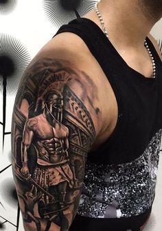Warrior Tattoos, Badass Tattoos, Sexy Tattoos, Body Art Tattoos, Hand Tattoos, Tattoos For Guys, Sleeve Tattoos, Tattoo Ink, Maori Tattoo Frau