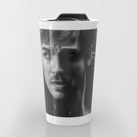 Travel Mug featuring Killian Jones by Mascmallow