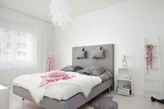 Красивая скандинавская спальня