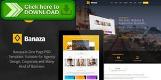 [ThemeForest]Free nulled download Banaza - Ultimate Flat One Page  PSD Template from http://zippyfile.download/f.php?id=3139 Tags: business, clean, corporate, corporation, creative, flat, one page, parallax, portfolio, psd, psd template, single page, unique, zazilla