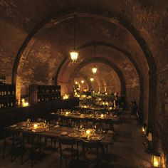 T&C MAG REC - FOR BOTH HOTEL AND DINING Dining In The Cellar At Castel Monastero