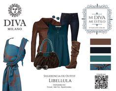 Combina tu Diva Libellula con diferentes looks