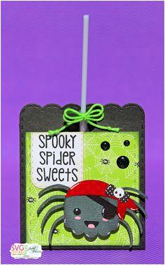 SVG Cutting Files: Pirate Spider